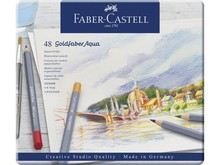 Faber Castell Goldfaber Aqua Watercolour Pencils Set of 48 (FC-114648)