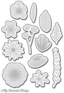 My Favorite Things Die-Namics Rustic Wildflowers (MFT-1191)