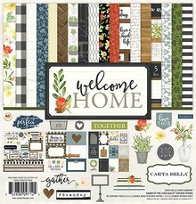 Carta Bella Welcome Home 12x2 Inch Collection Kit (CBWHO74016)