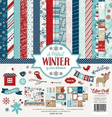 Echo Park A Perfect Winter 12x12 Inch Collection Kit (APW136016)