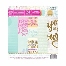 Craft Smith Write Your Heart Out 6x6 Inch Paper Pad (MPP0338)