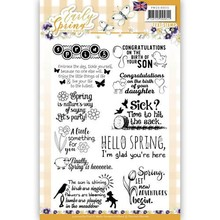 Precious Marieke Early Spring Clear Stamp Set (PMCS10025)