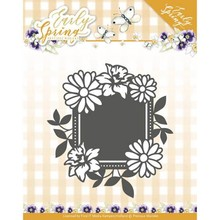 Precious Marieke Early Spring Spring Flowers Square Label (PM10113)