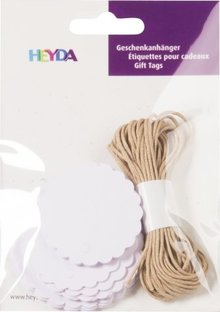 Heyda Gift Tags Rond Wit (204870730)