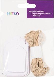 Heyda Gift Tags Langwerpig Wit (204870733)