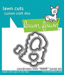 Lawn Fawn RAWR Dies (LF1556)
