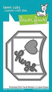 Lawn Fawn Stitched Gift Card Pocket Dies (LF1558)