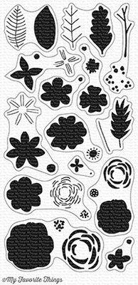 My Favorite Things More Rustic Wildflowers Clear Stamps (CS-234)