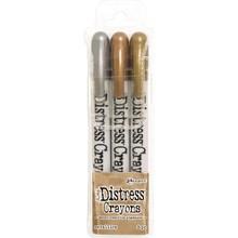 Ranger Tim Holtz Distress Crayon Metallics (TDBK58700)