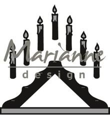 Marianne Design Craftable Candle Bridge (CR1427)