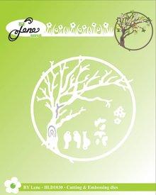 By Lene Metal Dies Spring Tree (BLD1030)