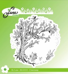 By Lene Clear Stamp Spring Tree (BLS1018)