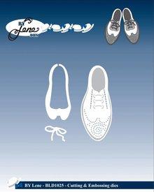 By Lene Metal Dies Fancy Shoes (BLD1025)