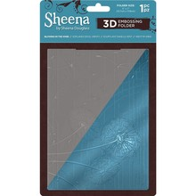 Sheena Blowing In The Wind 3D Embossing Folder (SD-EF5-3D-BITW)