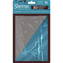 Sheena Autumn Leaves 3D Embossing Folder (SD-EF5-3D-AULE)