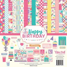 Echo Park Happy Birthday Girl 12x12 Inch Collection Kit (HBG140016)