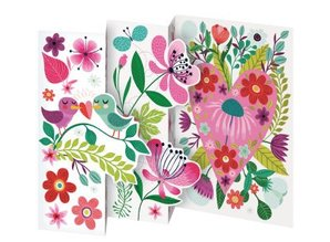 Roger La Borde Trifold Triptych Card Enchanted Heart (GCN 151)