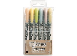 Ranger Tim Holtz Distress Crayon Set 8 (TDBK51787)