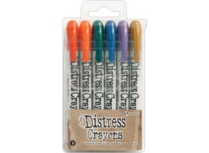 Ranger Tim Holtz Distress Crayon Set 9 (TDBK51794)