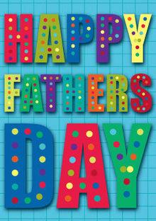 Roger La Borde Neon Father's Day Greeting Card (SC 605M)