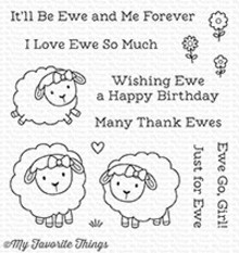 My Favorite Things Ewe And Me Forever Clear Stamps (CS-258)