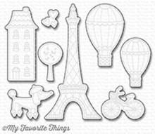 My Favorite Things Die-Namics In Paris (MFT-1250)