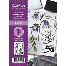 Crafter's Companion Sparkle Garden Unmounted Rubber Stamp Set (CC-ST-SG)
