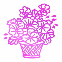 Couture Creations Hot Foil Stamp Basket Of Flowers (CO725749)