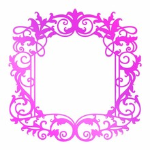 Couture Creations Hot Foil Stamp Intricate Frame (CO725752)