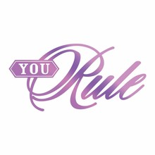 Couture Creations Hot Foil Stamp You Rule (CO725824)