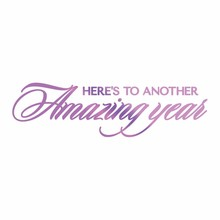 Couture Creations Hot Foil Stamp Amazing Year (CO725833)