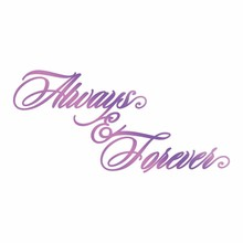 Couture Creations Hot Foil Stamp Always & Forever (CO725838)
