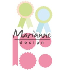 Marianne Design Collectable Rosettes & Labels (COL1444)