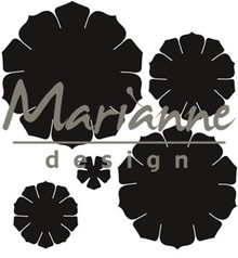 Marianne Design Craftable Succulent Round (CR1430)