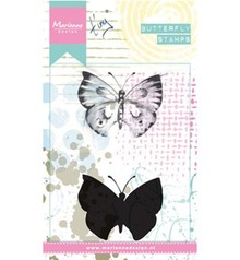 Marianne Design Tiny's Butterfly 1 Cling Stamp (MM1613)