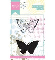 Marianne Design Tiny's Butterfly 2 Cling Stamp (MM1614)