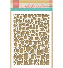 Marianne Design Masking Stencil Tiny's Cobble Stone (PS8001)