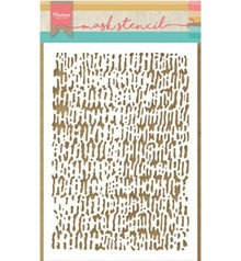 Marianne Design Masking Stencil Tiny's Faded Corduroy (PS8002)
