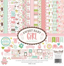 Echo Park Sweet Baby Girl 12x12 Inch Collection Kit (SBG142016)
