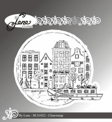 By Lene Clear Stamps Amsterdam (BLS1022)