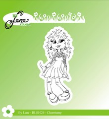 By Lene Clear Stamps Girl-2 (BLS1026)