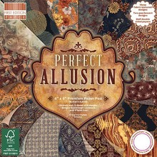 First Edition Perfect Allusion 6x6 Inch Paper Pad (FEPAD175)
