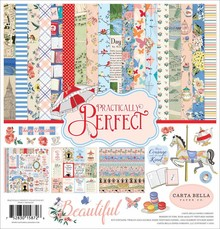 Carta Bella Practically Perfect 12x12 Inch Collection Kit (CBPP81016)
