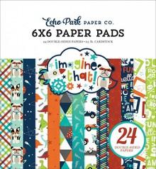 Echo Park Imagine That Boy 6x6 Inch Paper Pad (ITB147023)