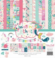Echo Park Imagine That Girl 12x12 Inch Collection Kit (ITG146016)