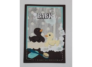 By Lene Metal Dies Baby Duck In Shower (BLD1043)