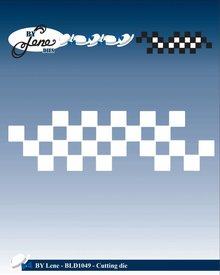 By Lene Metal Dies Chessboard (BLD1049)