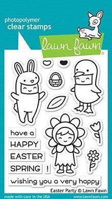 Lawn Fawn Easter Party Clear Stamps (LF1589)