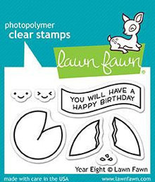 Lawn Fawn Year Eight Clear Stamps (LF1605)