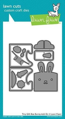 Lawn Fawn Tiny Gift Box Bunny Add-On Dies (LF1610)